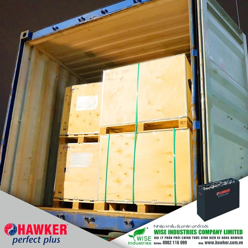 Bình điện xe nâng HAWKER - Hàng mới về tháng 6/2020